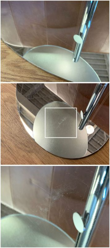 porada( ポラダ )(B)昇降式ガラスサイドテーブルPL詳細画像7
