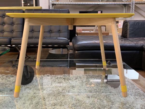 MOBEL TOKO( メーベルトーコー )【未使用品】テーブル しかく ぼこ きいろPALAPELI( パラペリ )詳細画像3