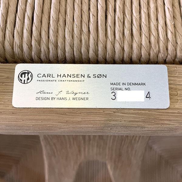 CARL HANSEN & SON(カール・ハンセン&サン)(C)YチェアCH24詳細画像5