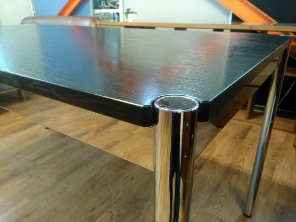 USM Modular Furnitureハラーテーブルオーク ブラック詳細画像3