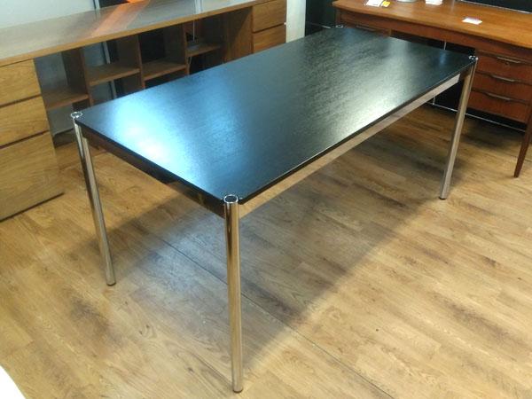 USM Modular Furnitureハラーテーブルオーク ブラック詳細画像2