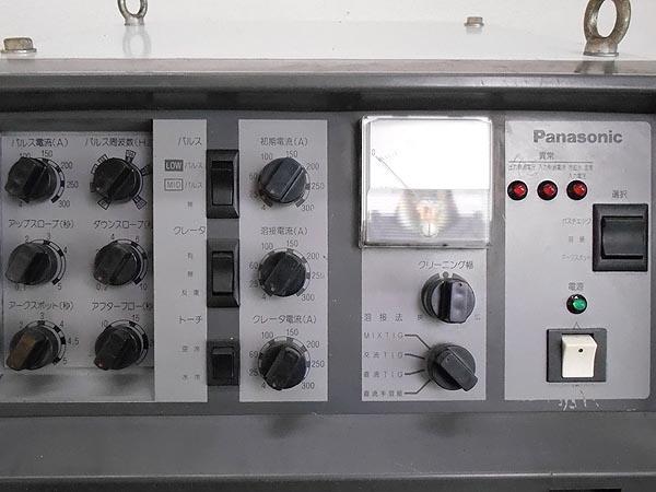Panasonic/パナソニックインバーター制御 交・直共用 溶接用電源 TIG STAR WX300詳細画像3