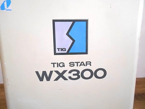 Panasonic/パナソニックインバーター制御 交・直共用 溶接用電源 TIG STAR WX300詳細画像4