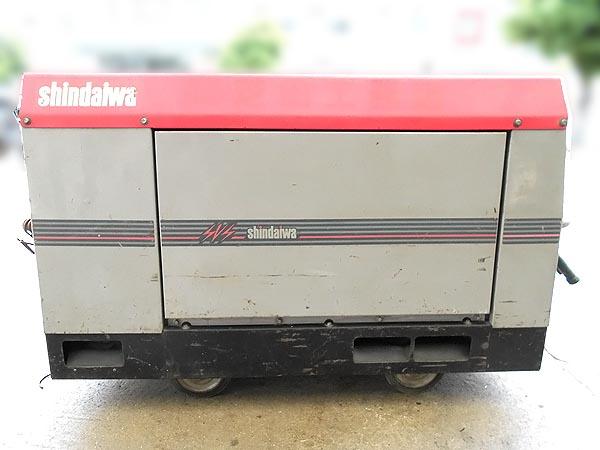 shindaiwa/新ダイワ防音型エンジン 発電機兼用溶接機 ウェルダーDGW311DM詳細画像3