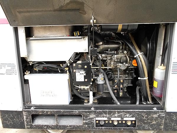 shindaiwa/新ダイワ防音型エンジン 発電機兼用溶接機 ウェルダーDGW311DM詳細画像4