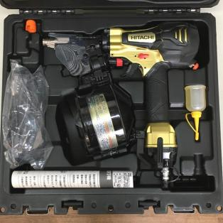 HITACHI/日立工機 【未使用品】 50mm高圧ロール釘打機買取しました!