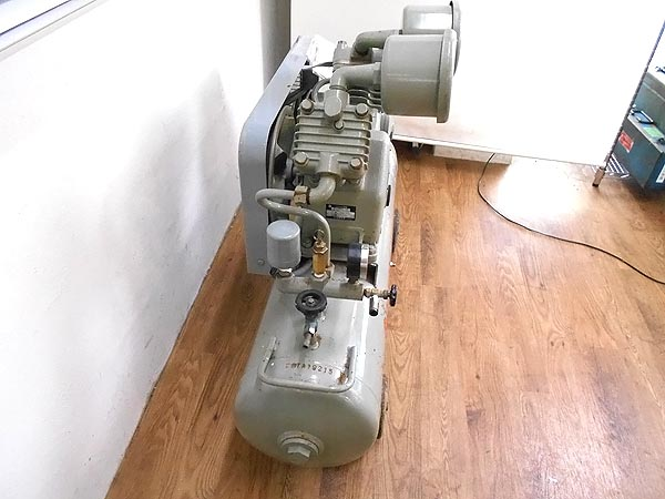 HITACHI/日立工機2馬力オイルフリーベビコン  60Hz1.5 OP-7T詳細画像2
