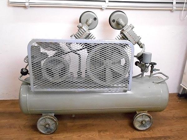 HITACHI/日立工機2馬力オイルフリーベビコン  60Hz1.5 OP-7T詳細画像3