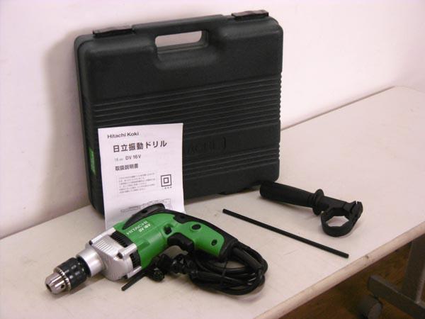 日立工機/HITACHI美品 振動ドリルDV16V