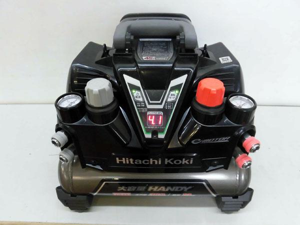 日立工機/HITACH 高圧エアコンプレッサー EC1245H2買取しました!