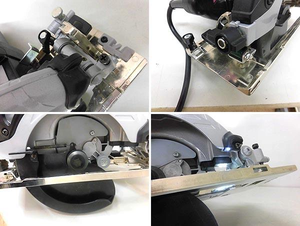 HITACHI/日立工機165mm深切り電子造作丸のこC6UVY詳細画像4