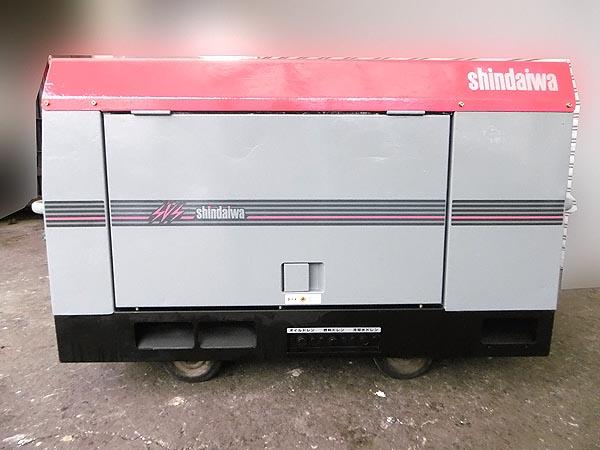 shindaiwa/新ダイワ防音型 エンジン発電機兼用溶接機DGW311L詳細画像2