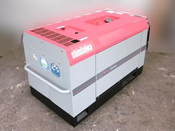 新ダイワ/shindaiwa防音型 エンジン発電機兼用溶接機DGW311L詳細画像3