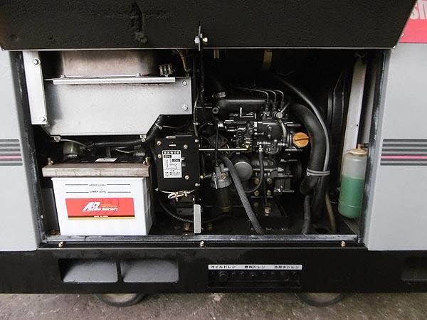 新ダイワ/shindaiwa防音型 エンジン発電機兼用溶接機DGW311L詳細画像4