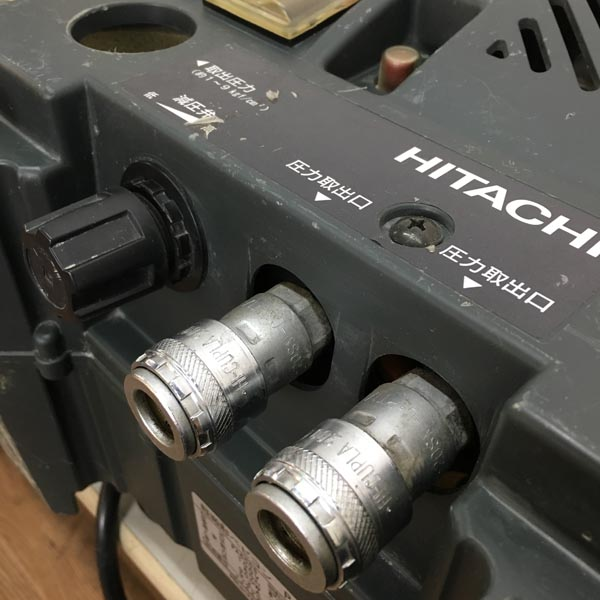 HITACHI / 日立工機4/5馬力 軽搬型ベビコンPA600S 60Hz専用詳細画像3