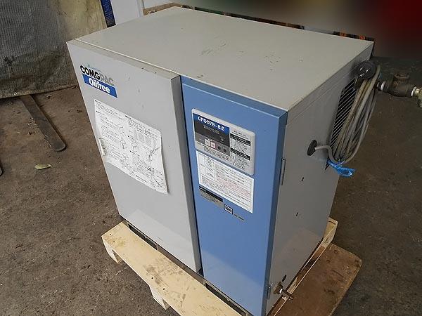 ANEST IWATA/アネスト岩田1馬力 パッケージ コンプレッサー 50Hz 100VCFD07B-8.5詳細画像2