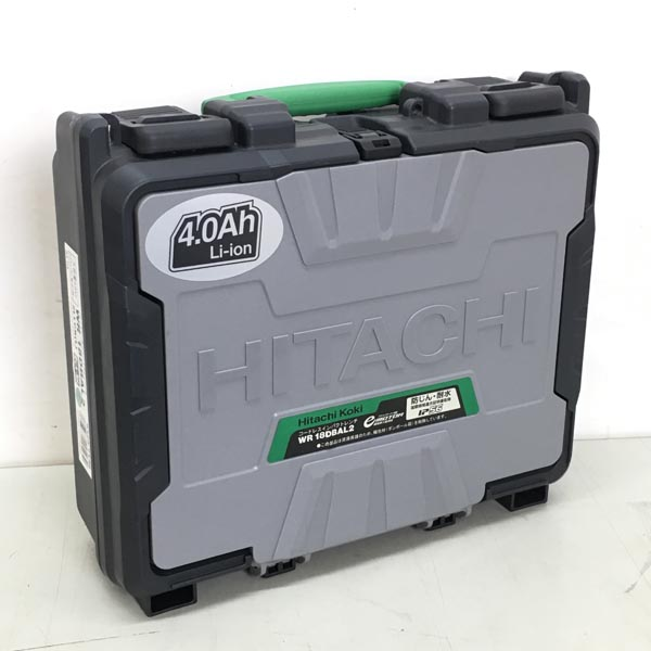 HITACHI/日立工機18V コードレスインパクトレンチWR18DBAL2 2LLCK グリーン詳細画像4