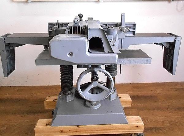 HITACHI / 日立工機切削幅160mm 自動かんな盤 手押かんな盤F505詳細画像2