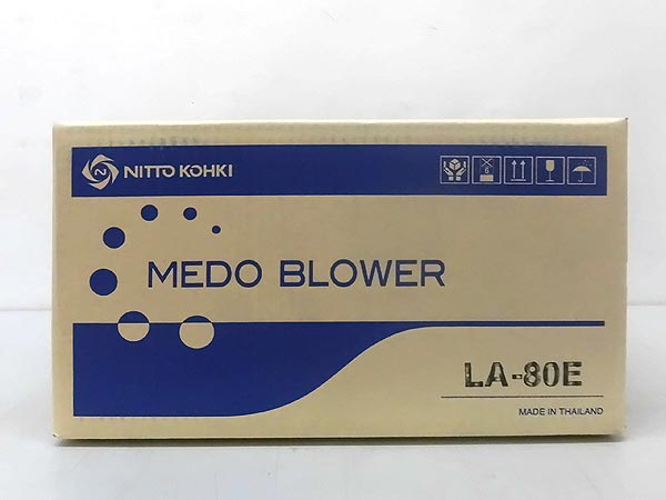 NITTO KOHKI/日東工器 メドー浄化槽エアーポンプ ブロワーLA-80E詳細画像2