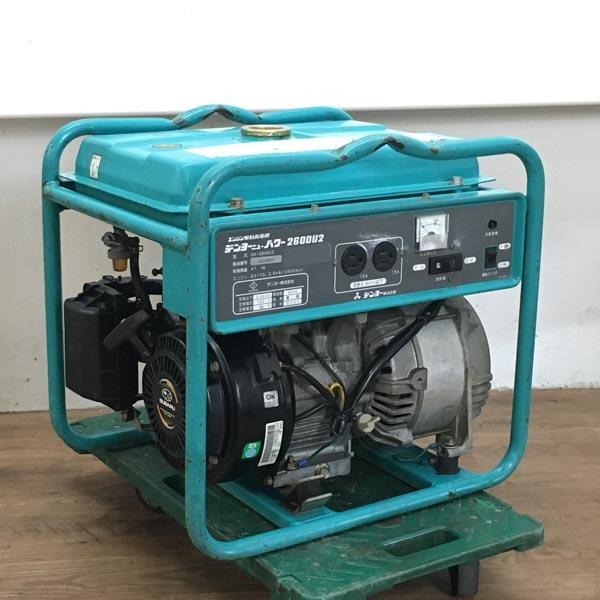 DENYO / デンヨーエンジン駆動発電機 ニューパワー2600U2 100V 60Hz(A)GA-2606U2