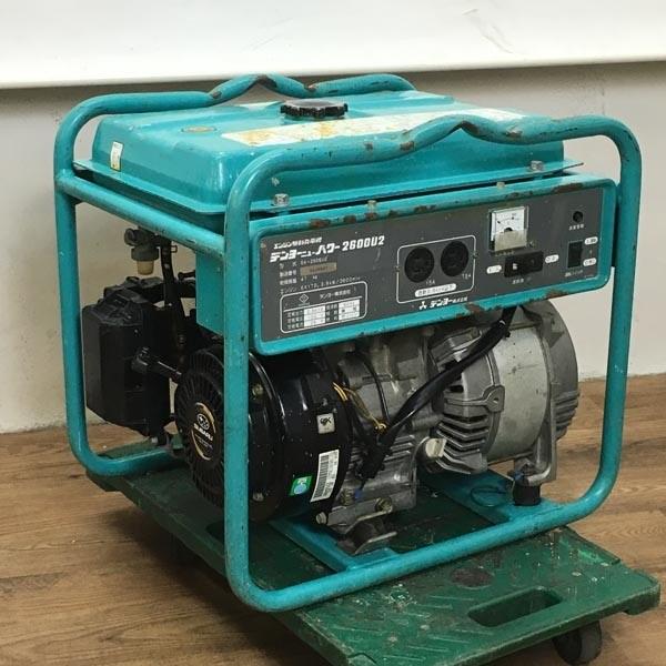 Denyo/デンヨーエンジン駆動発電機 ニューパワー2600U2 100V 60Hz(B)GA-2606U2