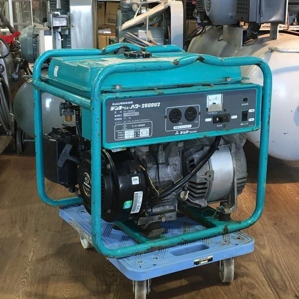 Denyo/デンヨーエンジン駆動発電機 ニューパワー2600U2 100V 60Hz(C)GA-2606U2
