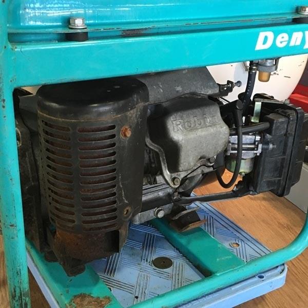 Denyo/デンヨーエンジン駆動発電機 ニューパワー2600U2 100V 60Hz(C)GA-2606U2詳細画像5