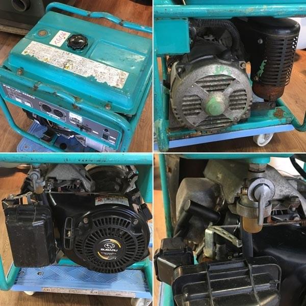 Denyo/デンヨーエンジン駆動発電機 ニューパワー2600U2 100V 60Hz(E)GA-2606U2詳細画像6