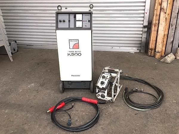 松下電器産業サイリスタ制御CO2 半自動溶接機YD-506K-5