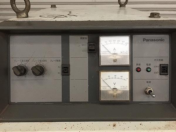 松下電器産業サイリスタ制御CO2 半自動溶接機YD-506K-5詳細画像3