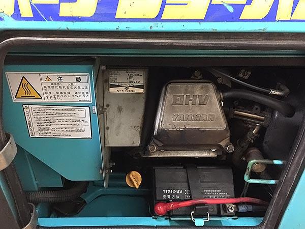 デンヨー/Denyo防音型ガソリンエンジンウェルダーGAW-180SS詳細画像3
