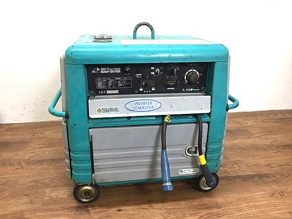 Denyo/デンヨー インバーター 発電機 溶接機 GAW-150ES