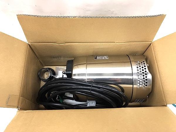 鶴見製作所/ツルミステンレス製水中ポンプ 50Hz50SQ2.4S-52 詳細画像4