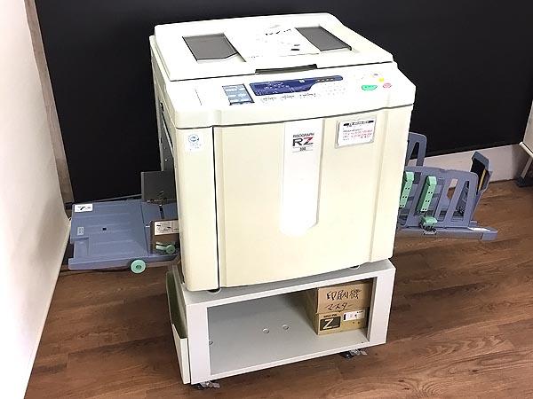理想科学工業/RISO 単色(青)印刷機 輪転機 リソグラフ/RISOGRAPH RZ330