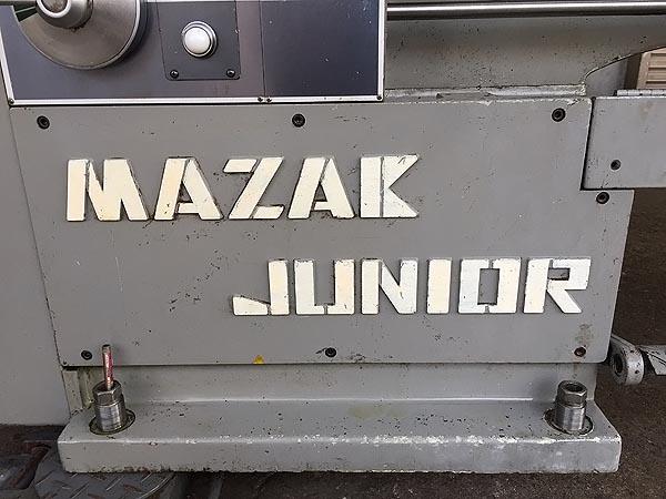 ヤマザキマザック/山崎鉄工6尺旋盤 汎用旋盤MAZAK-JUNIOR詳細画像3