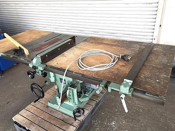 横井工業テーブルが大きい 昇降丸ノコ盤マーキュリー詳細画像2