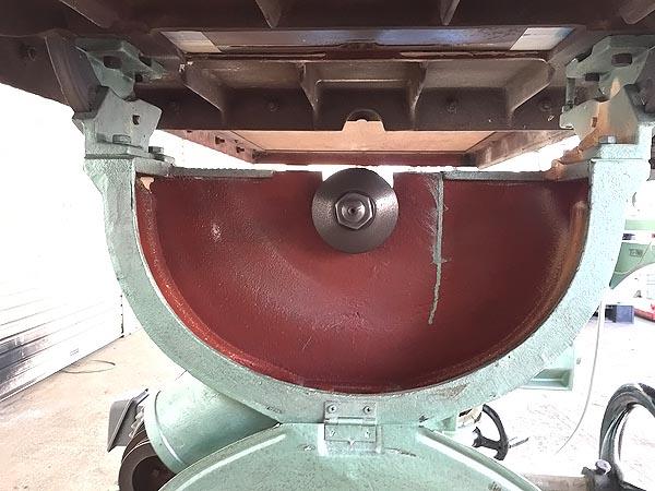 横井工業テーブルが大きい 昇降丸ノコ盤マーキュリー詳細画像3