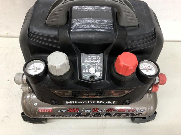 HITACHI/日立工機高圧・常圧 エアコンプレッサーEC1245H詳細画像3
