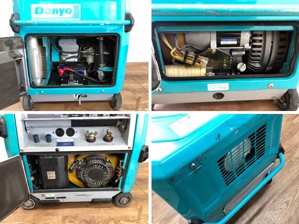 Denyo/デンヨーガソリンエンジンウェルダーGAW-150ES2詳細画像5