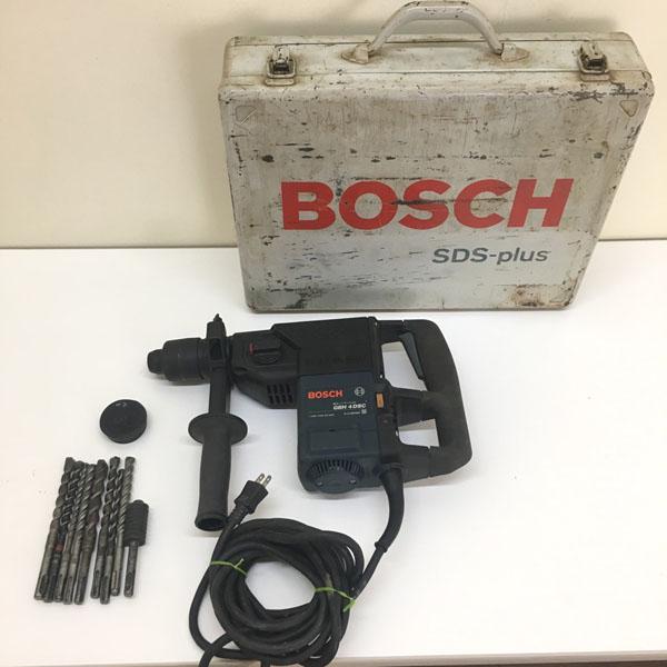 BOSCH/ボッシュ電子ハンマードリルGBH4DSC