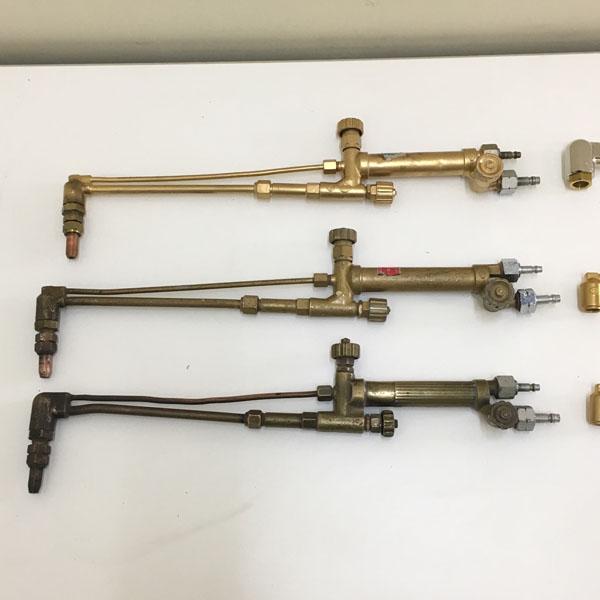 ヤマト・小池酸素中型切断器・中圧ガス切断器 計6本セット1型4本、3型1本、不明1本詳細画像2