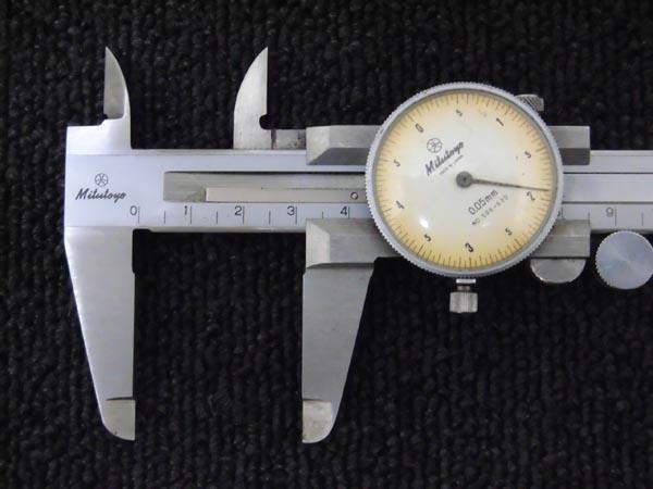 ミツトヨダイヤル式ノギス 150mm 詳細画像3