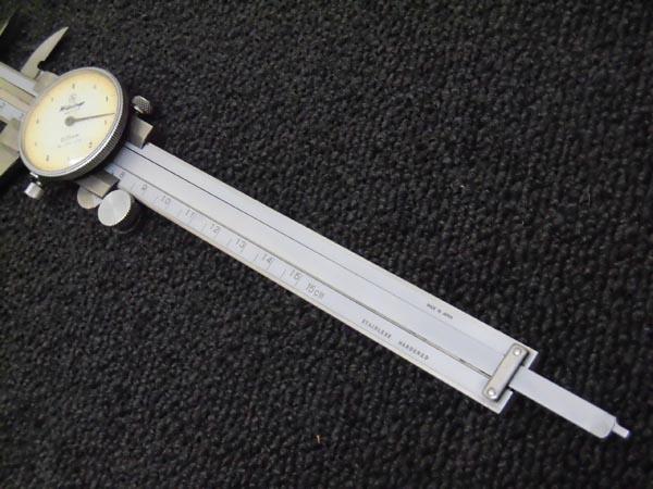 ミツトヨダイヤル式ノギス 150mm 詳細画像4