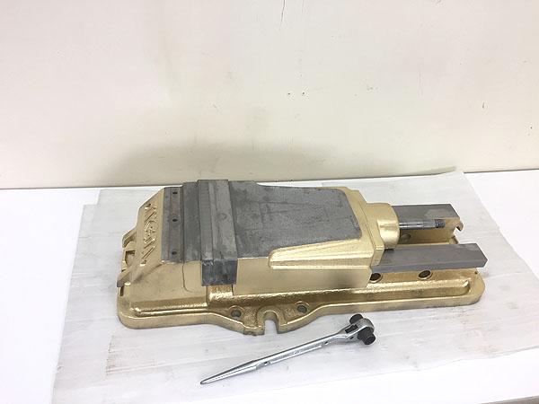武田機械/TAKEDA 油圧式 マシンバイス買取しました!