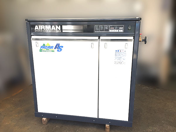 北越工業/AIRMAN屋外設置型 スクリューコンプレッサーSMS22ES-6E