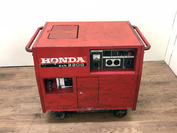 HONDA/ホンダ2.2KVA 発電機EXR2200詳細画像2