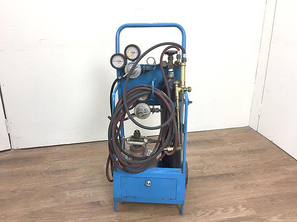 不明ガス溶断・溶接セット アセチレン・酸素