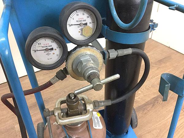 不明ガス溶断・溶接セット アセチレン・酸素 詳細画像4