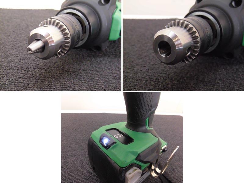 HITACHI/日立工機12.5mmコードレス高速ドリル 本体のみD18DBHL詳細画像2