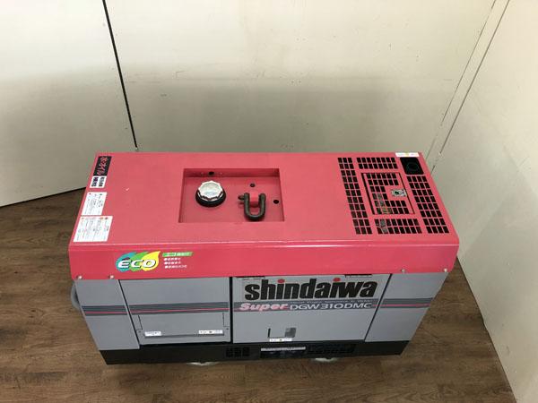 shindaiwa/新ダイワ発電機兼溶接機 ウェルダーDGW310DMC詳細画像3